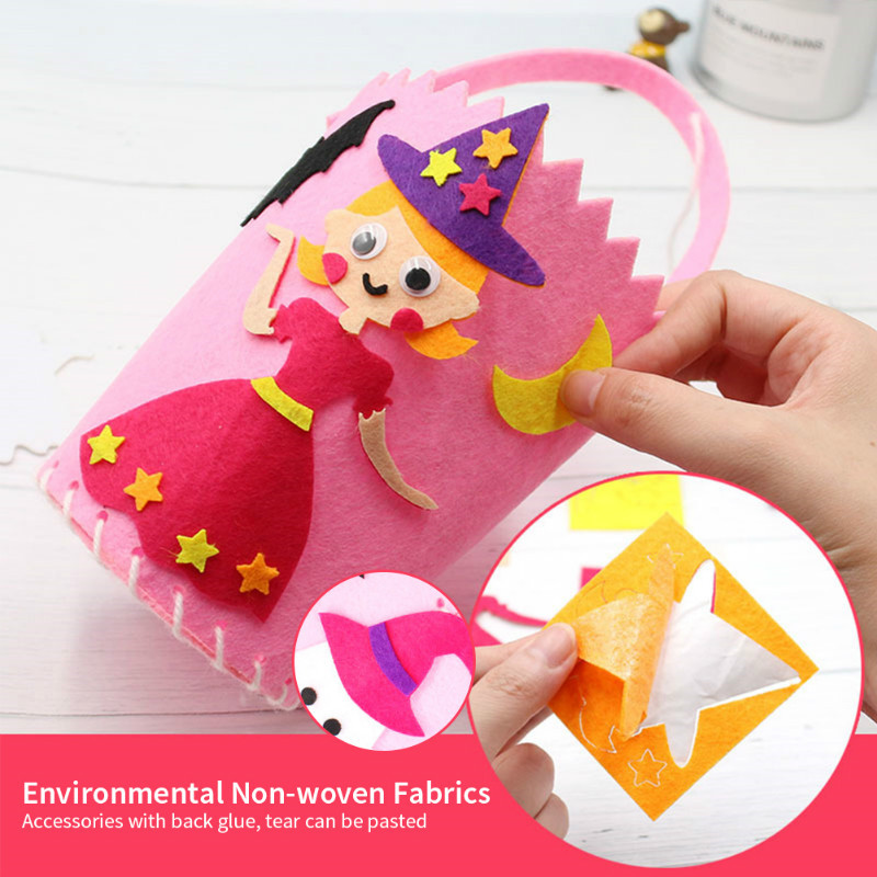 Detail Feedback Questions about Halloween Candy Bag Children DIY Gift Toys  Pumpkin Trick or Treat Bags Sacks Hallowmas Gift For Kids Event Halloween  Party ... 1cced251d412
