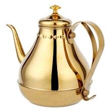 1.8L/1.2L чайник из нержавеющей стали золотой серебряный чайник с фильтром сетевой кухонный вареный черный и зеленый чай пуэр напиток водонагреватель