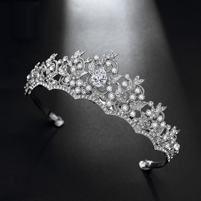 Back To Search Resultsjewelry & Accessories Dazzling Rhinestones Hari Jewelry For Bridal Sliver Wedding Tiaras Girls Crown Headwear Adornos Para El Pelo H228 Jewelry Sets & More