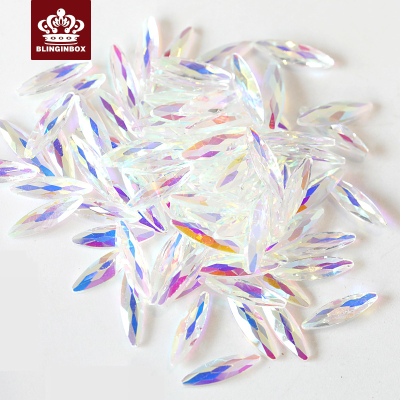 Strass & Dekorationen 20 Stücke K9 Top Qualität Transparent Kristall Ab Nail Art Strass Nagel Strass Glitter Strass Für Nägel Diy Dekoration H0930 Kunden Zuerst