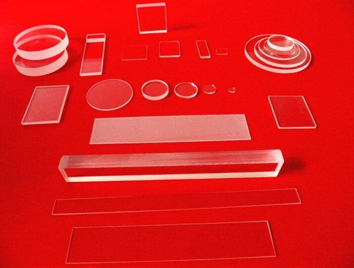Polishing clear quartz glass plate 448*126*2mm fused quartz plate