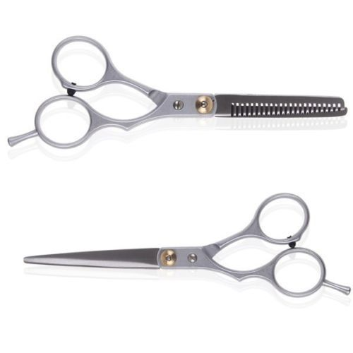 2 pc Professional Hair Cutting Thinning Scissors Shears Barber Set Hairdressing 5