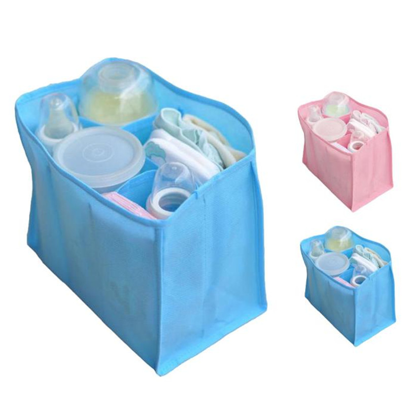 Portable Baby Diaper Nappy Changing Organizer Insert Storage Bag Outdoor