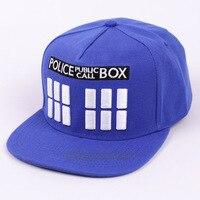 2017 Fashion Baseball Caps Men Flat Hat Snapback Cap Women Hip Hop Brand Doctor Who Letter