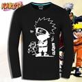 Naruto Костюмы футболка homme Футболка С Длинным Рукавом Рубашки мужчины Аниме Футболки Pein Хатаке Какаши Narutot рубашки мужчины