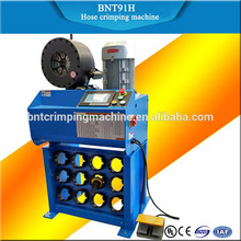 2017 BARNETT BNT91H china supplier good price hose crimper hydraulic hose crimping machine
