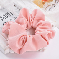 Solid Colors Flowers Headbands Elastic Hair Bands Hair Gum High Rubber Elastic Bands 35470