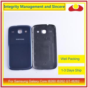 Image 5 - Per Samsung Galaxy Core I8260 I8262 GT I8262 GT I8260 Dellalloggiamento Del Portello Della Batteria Posteriore di Caso Della Copertura Posteriore Telaio Borsette di Ricambio