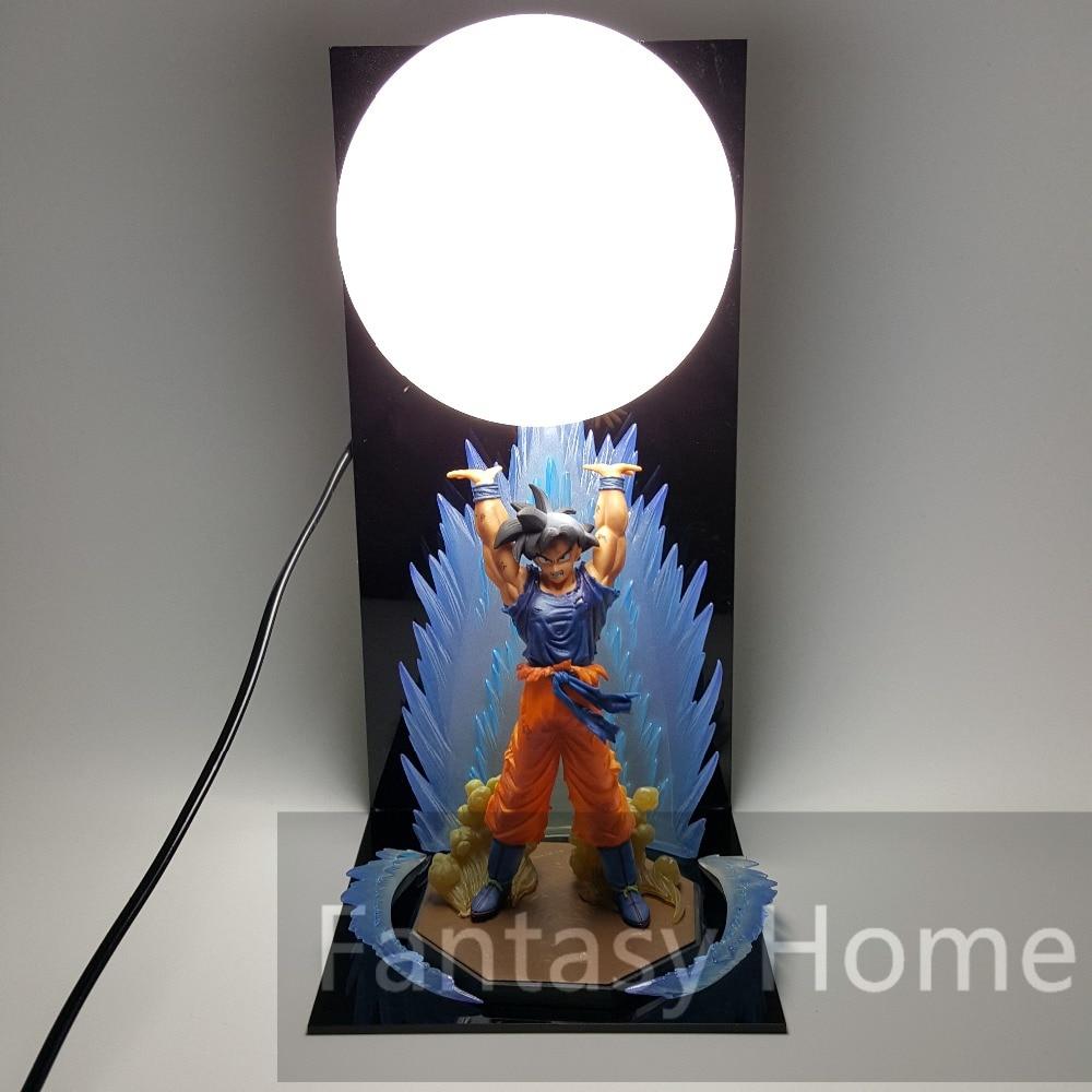 Dragon Ball Z Figure Son Goku Genki damaSpirit Bomb PVC Figure Dragonball Z DIY Display Model Toy Dragon+Ball+Base DIY51 картридж cactus cs c040hy для canon lbp 710cx i sensys 712cx i sensys желтый 10000стр