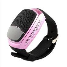 B90 Super Bass Беспроводные Bluetooth Браслет Динамик Smart Watch Sport музыкальный плеер вызова воспроизведение fm-радио раз автоспуска дисплей