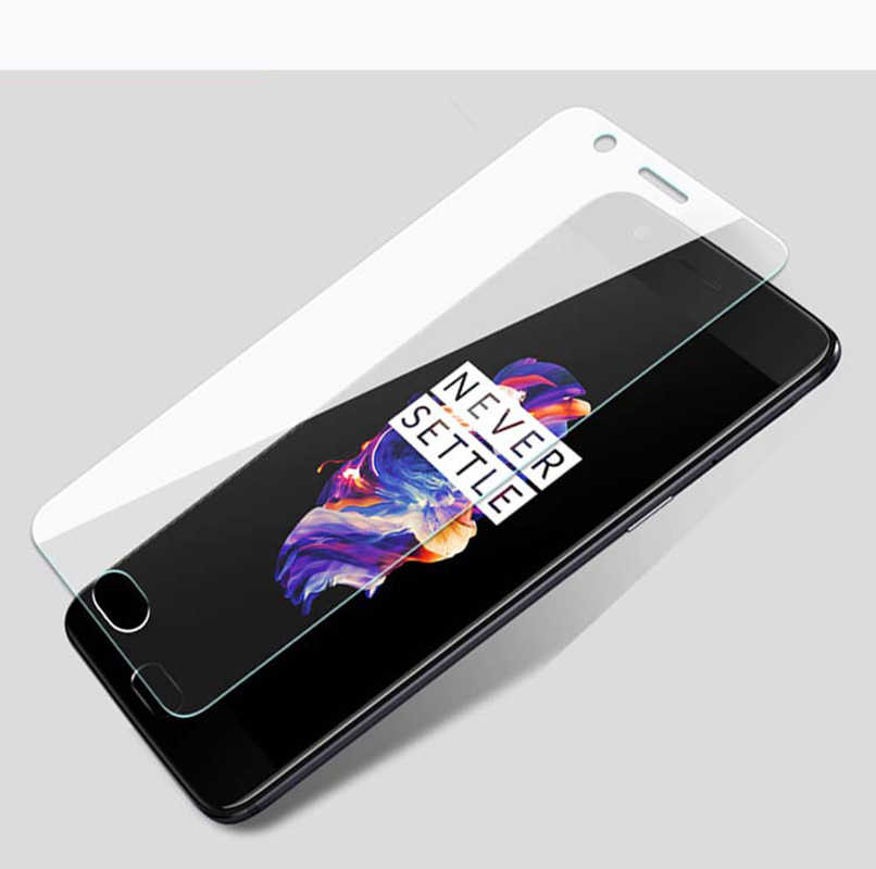 2pcs Tempered Glass for OnePlus X 2 3 3T 5 5T 6  two three five six  Explosion-proof Protective Film Screen Protector