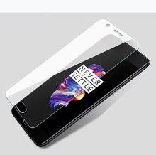 2 uds. De vidrio templado para OnePlus X 2 3 3T 5 5T 6 dos tres cinco seis Protector de pantalla de película a prueba de explosiones