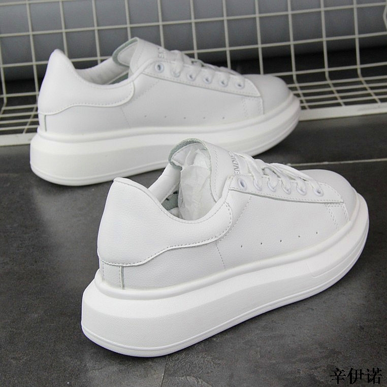 New Fashion Vulcanize Shoes Trainers Women Sneakers Casual Shoes Basket Femme PU Leather Tenis Feminino Zapatos Mujer Plataforma 54