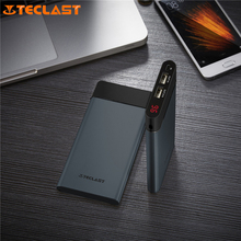 Original Teclast T100UC-N Ultra-thin Pokeball Power Bank 10000mAh With LED Display For iPhone 5s xiaomi oneplus 5 elephone s8