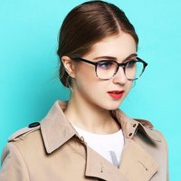 2018 New Design Handmade Acetate Glasses Fashion Colors EyeWear Frames For Young Women Girl Square Luxury