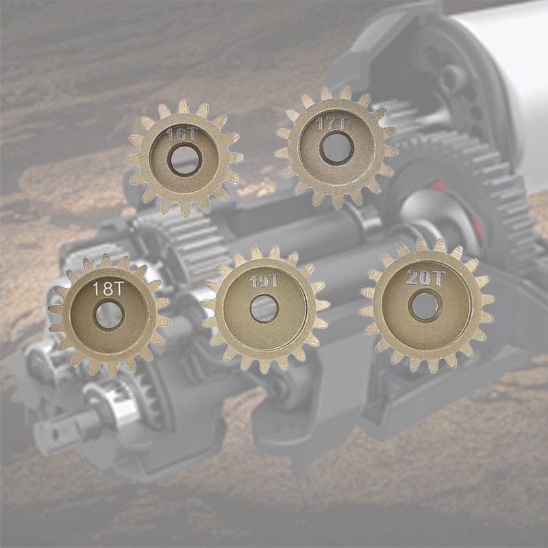 32dp 3.175mm 16 t 17 t 18 t 19 t 20 t pinhão conjunto de engrenagem do motor para traxxas redcat hsp tamiya 1/10 rc carro 540 550 escovado 3650 3660 motor