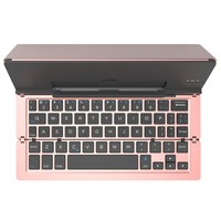 Universal F18 Mini Folding Bluetooth Keyboard Foldable Wireless BT 3 0 Keyboard For IPad IPhone Tablet
