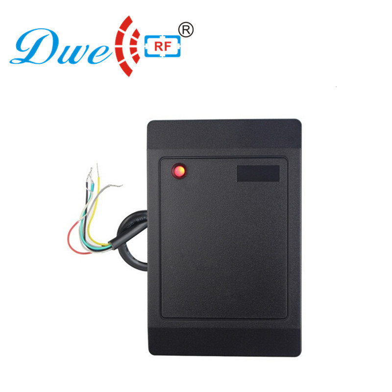 DWE cc rf карты контроля читателей ID rf RS232 Близость контроля доступа 125 кГц 13.56 мГц rfid-считыватель малой дальности 12 В