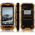 Original V9 A9 A8 IP68 A Prueba de agua a prueba de Choques Resistente Teléfono Móvil MTK6582 Quad Core Android 4.4 1G RAM 8G ROM 3G GPS 5MP NFC F6