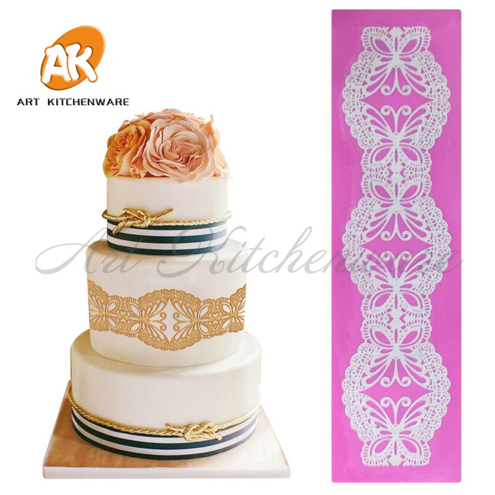 Lace Embossing Mat Cake Decorating