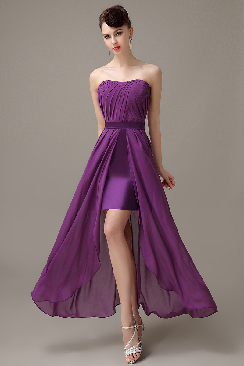 Compare prices on customized bridesmaid dresses online shopping dark purple strapless chiffon zipper up slit simple bridesmaid dress cheap bridesmaid dress customized bridesmaid dress ombrellifo Choice Image