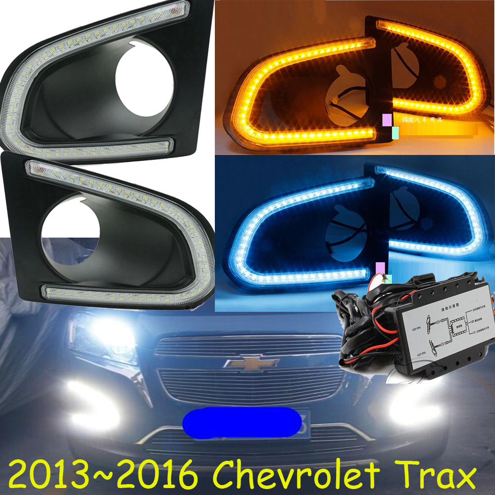 2013~2016 Chevrole Trax daytime light;Free ship!LED,Trax fog light,celebrith,monza,pickup,chevy;Trax 2013 2016 innova daytime light free