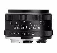 Meike MK-EM-50-2.8 50mm f2.8 For Large Aperture Manual Focus lens APS-C For Canon for EOS M1 M2 M3 Camera