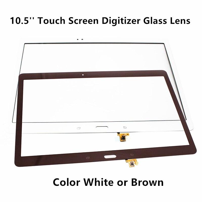 FTDLCD 10.5 ''numériseur d'écran tactile remplacer le verre d'ordinateur portable pour Samsung Galaxy Tab S T800