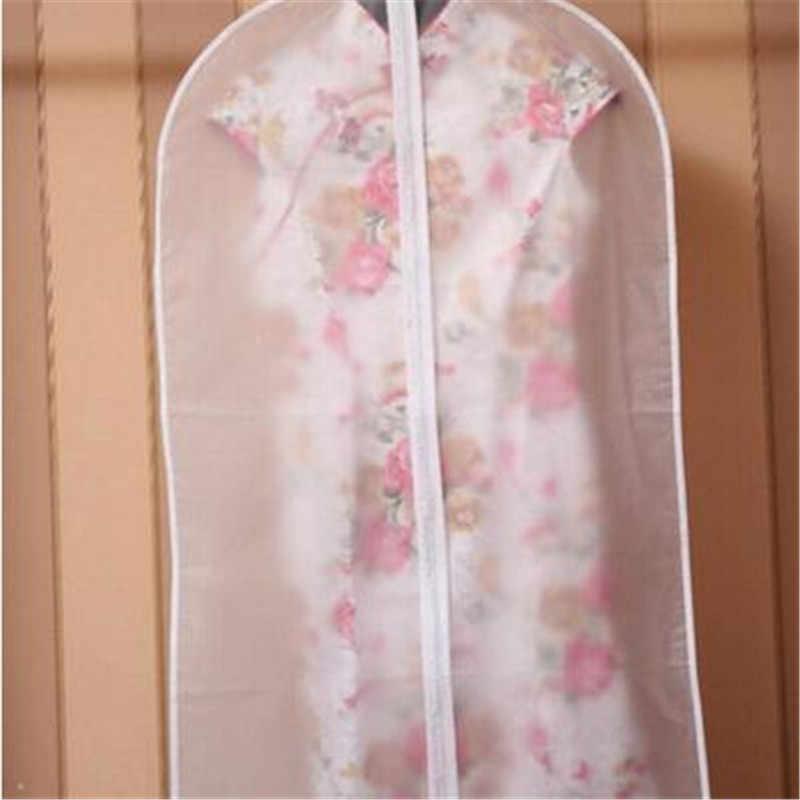 Staubdicht Tuch Abdeckung Taschen Transparent Kleiderschrank Lagerung Tasche Staub Abdeckung Kleidung Protector Garment Anzug Mantel Staub Abdeckung Großhandel