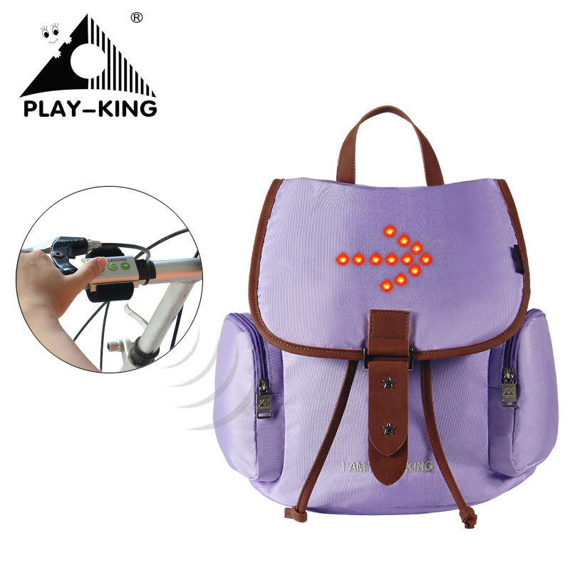 Bicycle Cycling Bag With Turn Signal