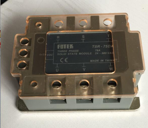 TSR-75DA Three-phase SSR input 4-32V DC load 24-380V AC серьги tesoro tsr 54105