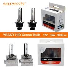 цена на 35w 4500K 5500K 6500K YEAKY Hid Bulb H1 H7 H11 H9 9005 9006 D1S D2S D3S D4S D2H Hid Lamp Auto Car Headlight Xenon Bulb Headlight
