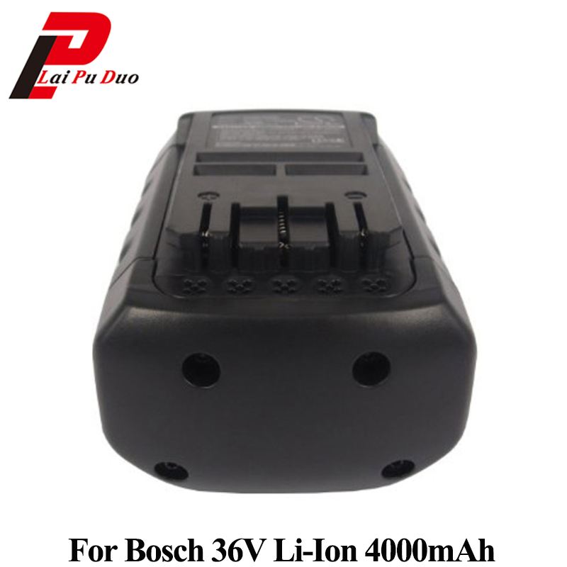 36V 4.0Ah Li-Ion Replacement power tool battery for Bosch: 2607336004,BAT836,11536VSR,2607336108,BAT838,1671B mallper bst 38 replacement 3 7v 720mah li ion battery for sony ericsson c905 k770i k850i k858