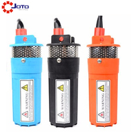High quality electric solar water submersible pump 24v dc