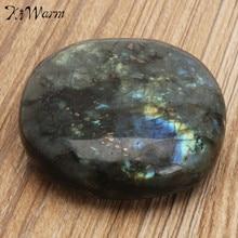 KiWarm Лидер продаж 1 шт. большой камень, лабрадоритовый кварц кристалл исцеление минеральные образцы камней пресс-папье домашний декор ремесла