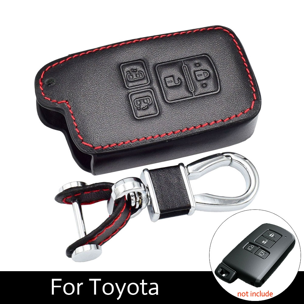 Exterior Accessories Back To Search Resultsautomobiles & Motorcycles Just Jy For Camry Chr Prado 2018 Remote Key Shell Car Smart Key Case Cover Accesories Aluminum Alloy