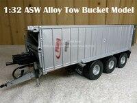 Редкие 1:32 ASW Автопогрузчик из сплава буксировочный ковш модель Германия Коллекция Модель