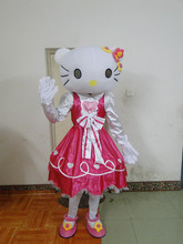 New!!Hello Kitty Mascot Costume Adult Size Hello Kitty Mascot Costume Free Shipping