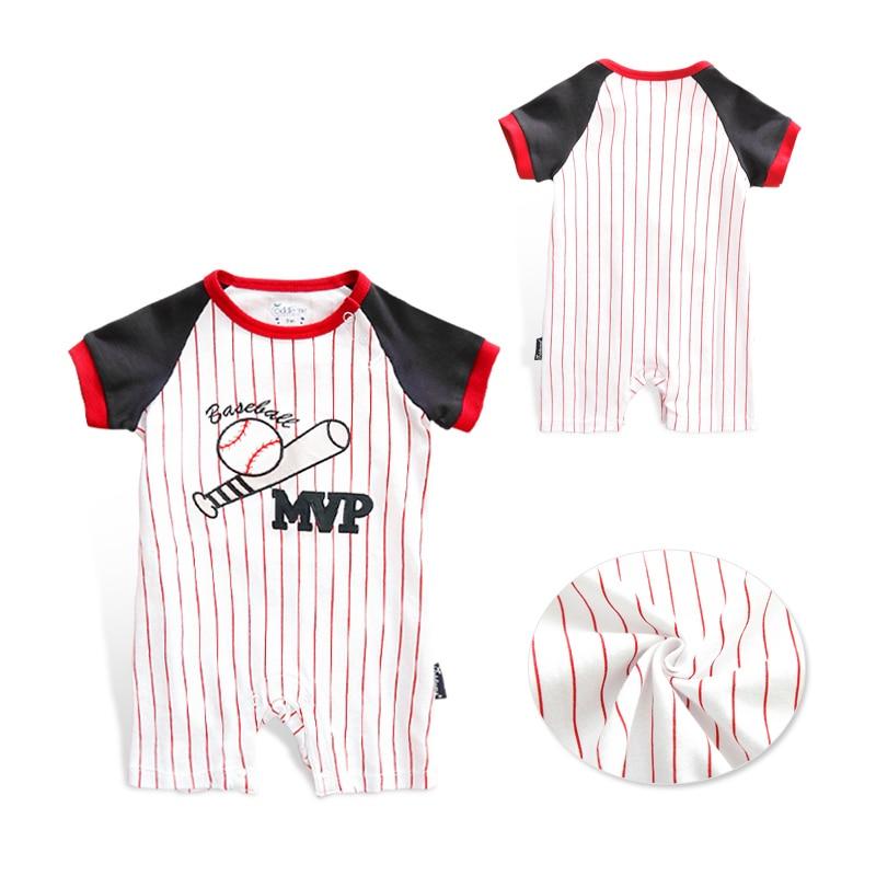 Honkbal Outfits voor kinderen trainingspak Jumpsuit Baby Romper - Babykleding - Foto 3