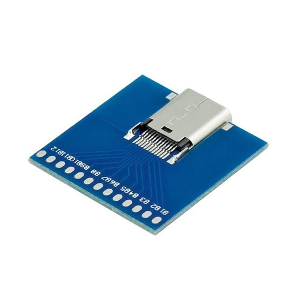 Gratis frakt 10Gbps USB-C USB 3.1 Typ C Typ-C Kvinna Lödkabel - Datorkablar och kontakter - Foto 2