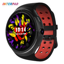 Interpad Z10 Android 5.1 MTK6580 1GB 16GB Smart Watch 1.39 Inch AMOLED 400*400 With Wifi 2.0 Camera Smartwatch For Android iOS