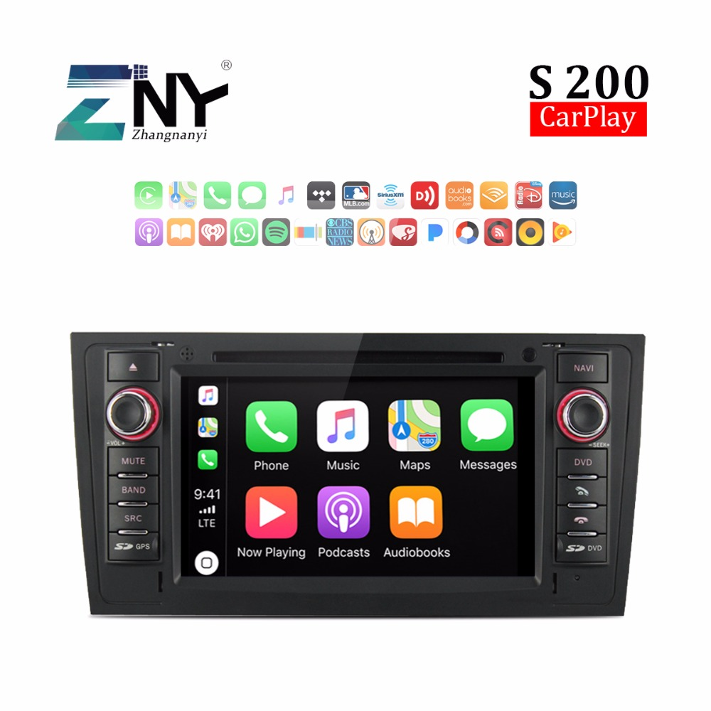 Android 8 0 Auto Radio Car DVD For Audi A6 1997 2004 7 HD Stereo Bluetooth