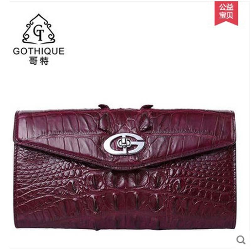 gete new crocodile leather handbag female leather hand bag lady crocodile bag dinner bag female new gete2016 crocodile handbag fashion chain bag shoulder bag his dinner bag handbag bag lady