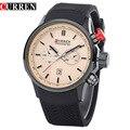 CURREN Original Men Sports Calender Quartz Watch Luxury Brand Military Waterproof  Wristwatches Relogio Masculino 8175