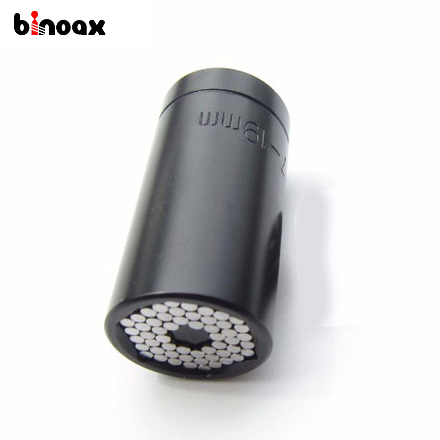 Binoax 7-19mm Magie Spanner Grip Griff Multi Funktion Ratchet Sockel Bohrmaschine Adapter Auto Handwerkzeuge reparatur Kit