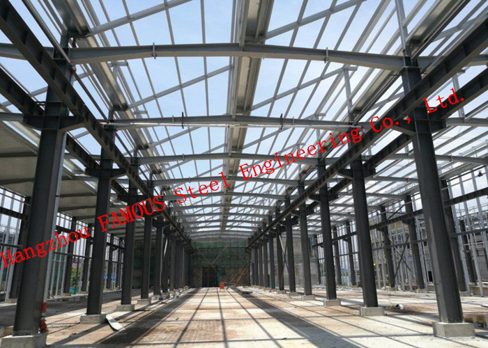 EPC Project Glass Curtain Wall Framed Multi-storey Steel Building Residential Building Constructions