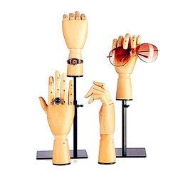 Symulacja Ruchome Wspólne HDF R Rękodzieło Pokaż Okno Dekoracji Prezent Czysto Instrukcja Sztucznej Dłoni Europejski Styl L2788 w Posągi i rzeźby od Dom i ogród na