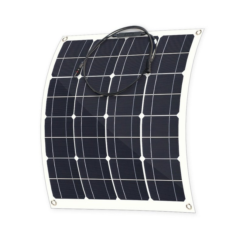 12V 50W Monocrystalline Silicon Solar Panel Solar Battery Charger Sunpower Panel Solar Free Shipping SOLAR PANELS 12V 50w 12v semi flexible monocrystalline silicon solar panel solar battery power generater for battery rv car boat aircraft tourism