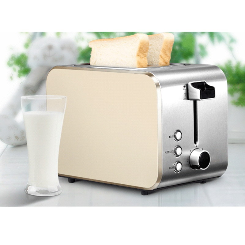 DMWD 750W Home Stainless Steel Bread Toaster Breakfast Machine Toast Oven Steamed Bun Slice Baking Machine 220V Тостер