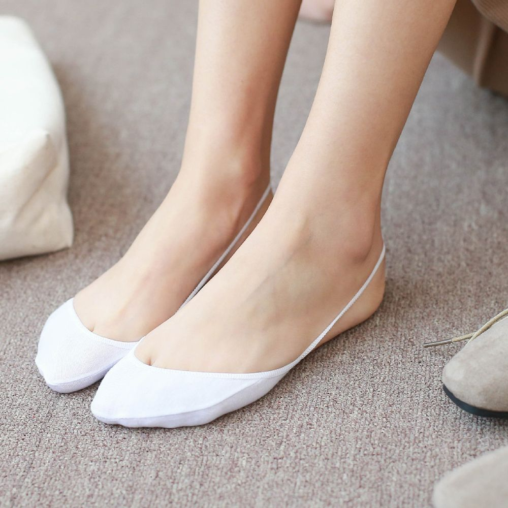 1Pair Of Invisible Toe Socks To Comfortable Wear For Sneakers And Loafers 4